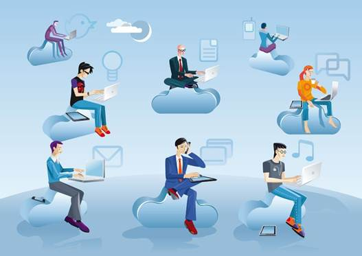 There's a growing awareness of cloud computing and cloud services from the executive level on down