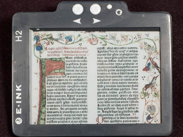 The e-Readers in this test all use e-Ink displays, which are notable for creating a surface that reflects light the way paper and ink does