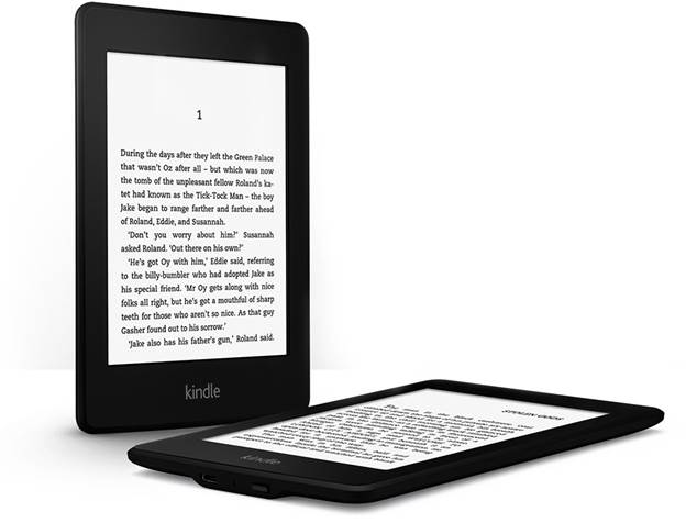 One of its lesser-trumpeted features is the superior resolution it commands (768 x 1024, compared to 600 x 800 on the Kindle 5) which gives text a visibly crisper appearance
