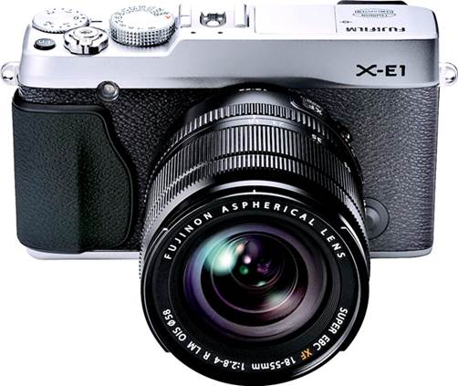 Rating based on a Fujifilm X-E1 product running software runs 1.04