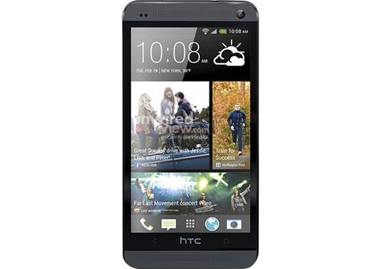 HTC crafted the One from a unique block of anodized aluminum, decorated with polycarbonate accents throughout.