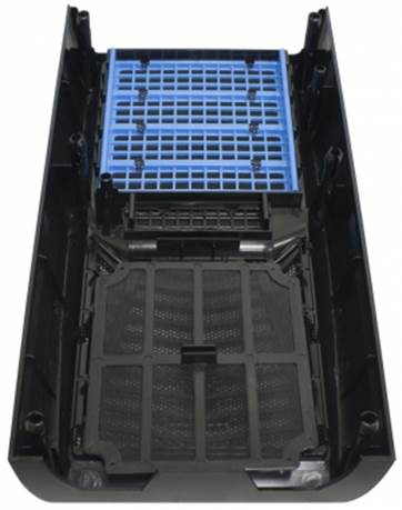 Front panel can remove easily