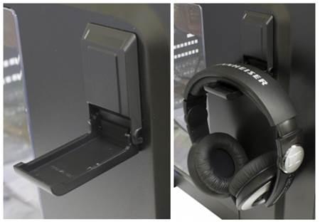 Headphone rack