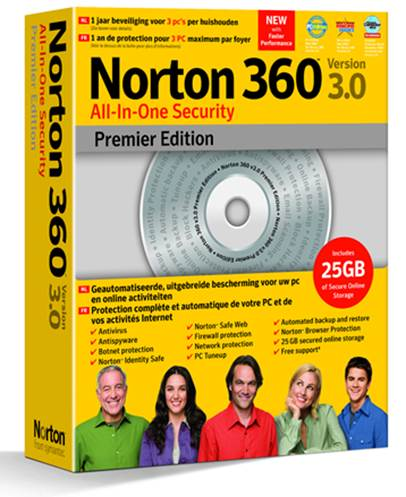 Norton 360 Premier Edition Software