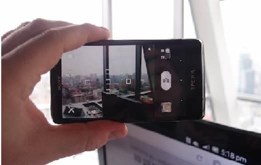 Sony's Xperia TL camera