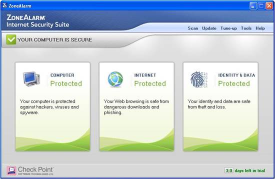 Zonealarm Internet Security 2013