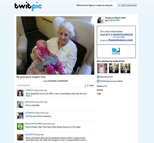 Ivy Bean became Twitters's oldest user at the age of 104