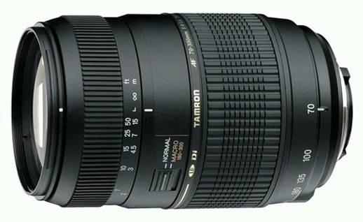 Tamron AF 70-300mm F/4-5.6 Di LD Macro (for Nikon Digital SLR) Lens (Standard Lens)