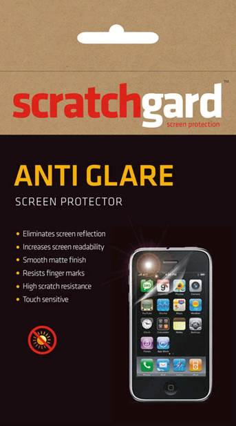 Scratchgard Anti-Glare Screen Guard for HTC P510E Flyer