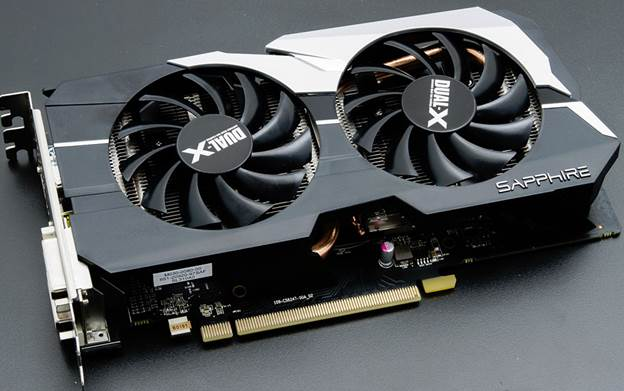 Sapphire has overclocked the card to 1,075MHz from its stock speeds of 1GHz