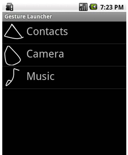 Gesture Launcher - Open apps with a quick onscreen scribble