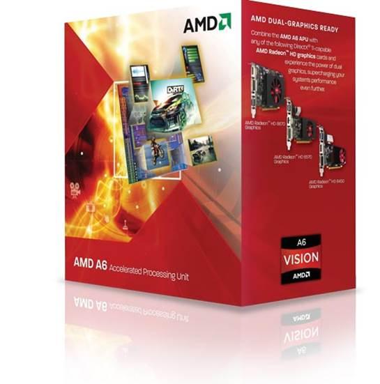 AMD A4 3300 2.5GHz Socket FM1 Retail Box