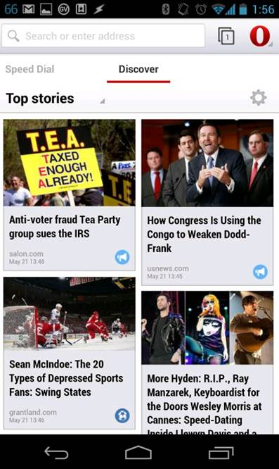 Get the news relevant to you delivered directly to your browser.