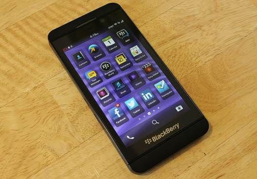 It's only a smartphone, but much rests on the BlackBerry Z10's slim shoulders