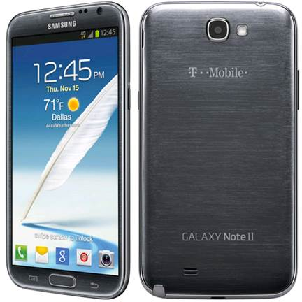 T-Mobile's Samsung Galaxy Note II