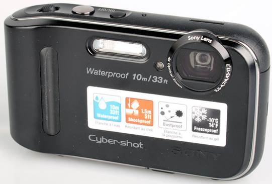 A low-cost water-resistant camera