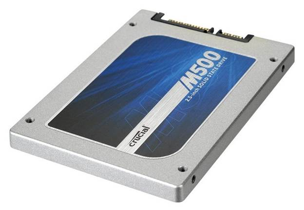The review drive had an impressive-for-SSD capacity of 480GB, though for those working to a budget Crucial also makes 120GB and 240GB models, and a big daddy 960GB version.