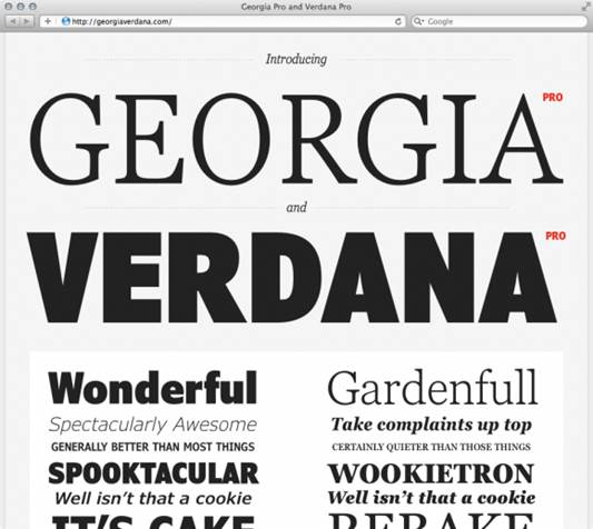 Changing The Typeface Of The Web (Part 2)