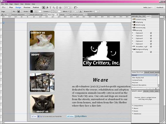 New authoring applications such as Adobe Muse are beginning to turn web design into a typographically rich wysiwyg medium