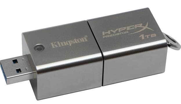 Kingston quote read speeds of 240MB/s and writing of 160MB/s, which aren't huge by SSD standards, but are fast by USB key levels