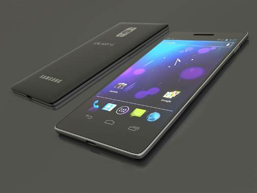 The S4 is only 7.9mm thick. It is 137mm tall and 70mm wide and this is an improvement on the S III, even though the screen is an extra third-of-an-inch larger from corner-to-corner.