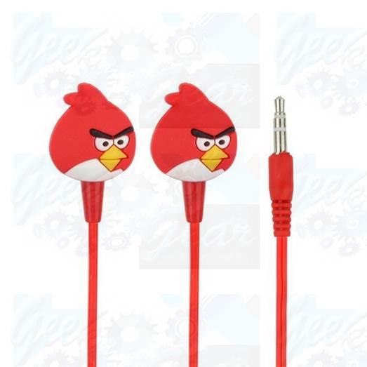 Angry Birds earphones