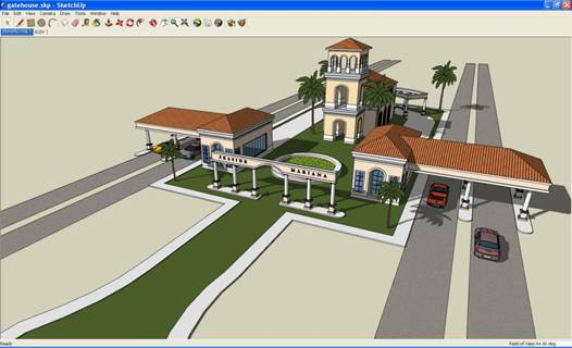 Three-dimensional modeling used to be mind-numbingly difficult, but that all changed with the arrival of SketchUp