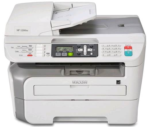 Ricoh Aficio 1200S Color Laser Printer
