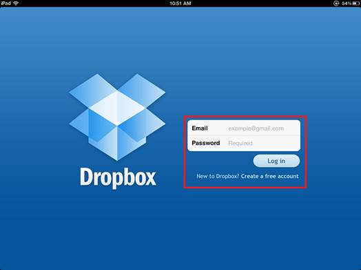 Dropbox is simple to sign up to and gives you a useful amount of free storage
