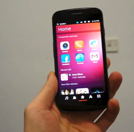 Ubuntu phones to hit stores in October