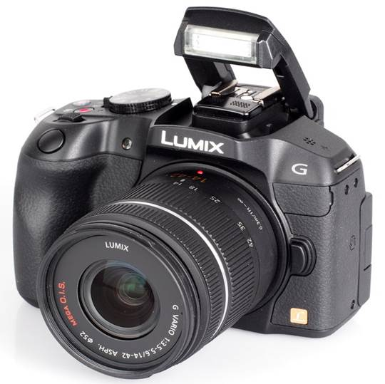 Designed to compete with the market of digital SLR camera, the style of it is very similar to a compact DSLR camera.