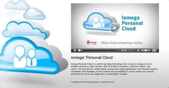 Iomega's Personal Cloud