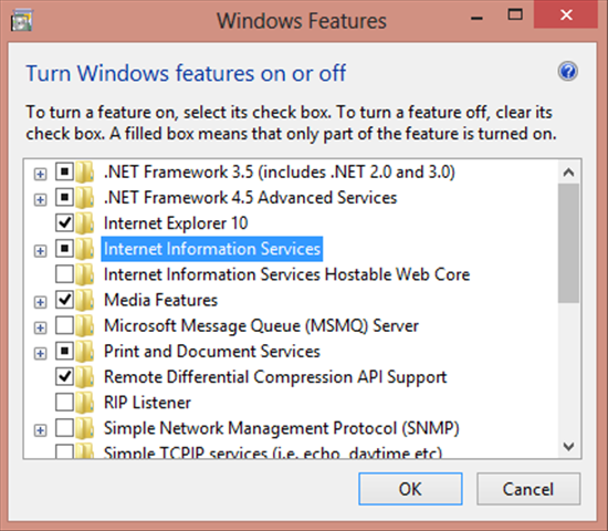 Windows 7 comes with Internet Information Services (IIS), which is what Microsoft calls its web server software.