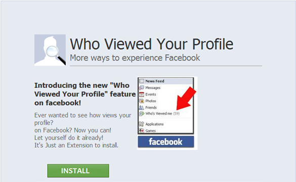 Scam Message: Who Viewed Your Profile