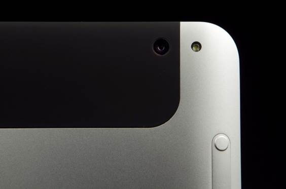 HP Elitepad 900's 8MP rear-facing camera