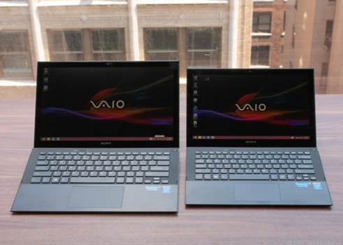 Starting with $1,150 and available in the sizes of 11 and 13 inches, these laptops utilize carbon fiber to get an even lighter design (under two pounds for the 11 inch model). Both have new Haswell processors, with 1080p screens, NFC and backlighting keyboards as the standard.