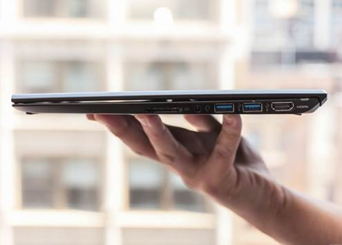 With 1.92 pounds, Sony proclaims it is the lightest touchscreen ultrabook in the world – in the 11 inch category or otherwise.