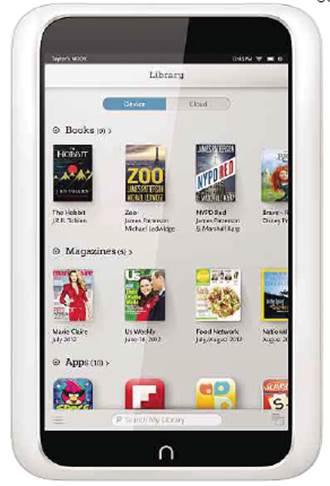 """the 7"""" Nook HD"""