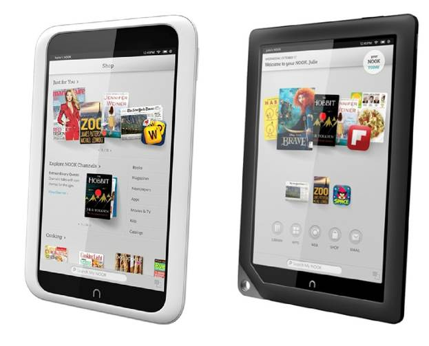 """""""The Nook HD series is in a similar PPI zone as Apple's Retina screens"""""""