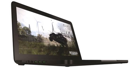 Battlefield 3 running on the brand new Razer Balde
