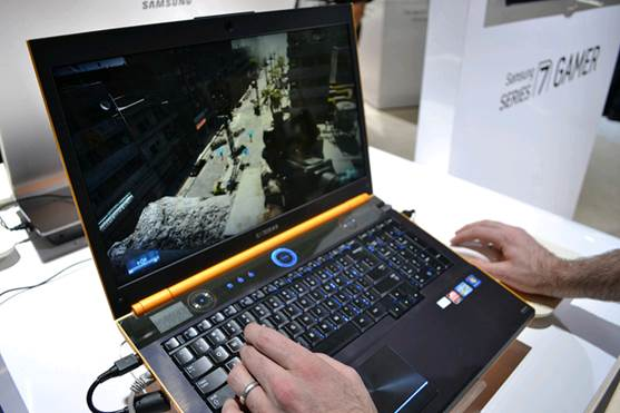 The Samsung's Series 7 Gamer, for instance, is cheaper than Razer Blade for about $600, outpacing it in game performance without making visual concessions.