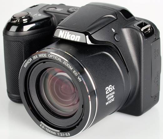 The Nikon Coolpix L320