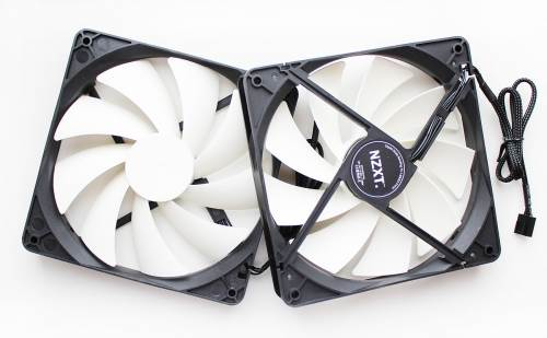 The 140mm NZXT FX-140 fans