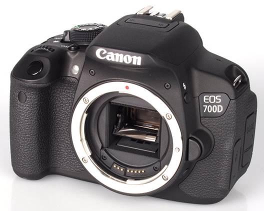 The Canon EOS 700D Digital SLR