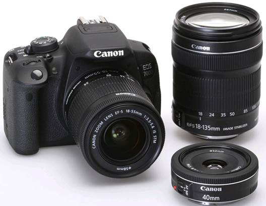 The Canon EOS 700D, just like its predecessor the 650D, is an excellent Digital SLR.
