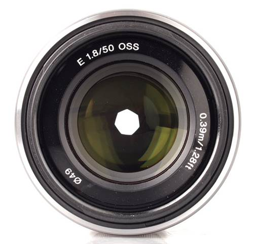 The Sony NEX 50mm f/1.8 OSS