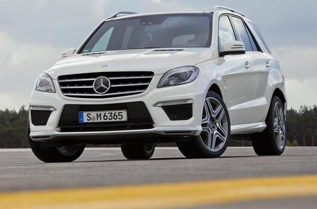 For any luxury family car, the ML63 is seriously fast