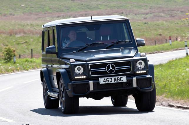The G63 replaces the old supercharged G55 as the most powerful, quickest and most expensive version of the venerable G-class 4x4