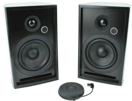 Description: Aperion Audio's Zona speakers