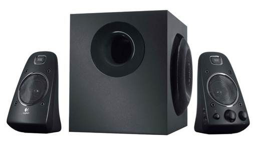 Description: Each 15-pound cabinet houses a 20-watt Class 0 amp driving a 1-inch silk-dome tweeter and a 4.5-inch woven-fiberglass woofer.